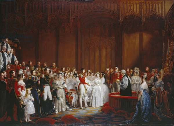 The Marriage of Queen Victoria, on the 10th February 1840, 1840-42 (oil on canvas)