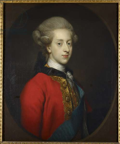 Christian VII, King of Denmark, 1768 (oil on canvas)