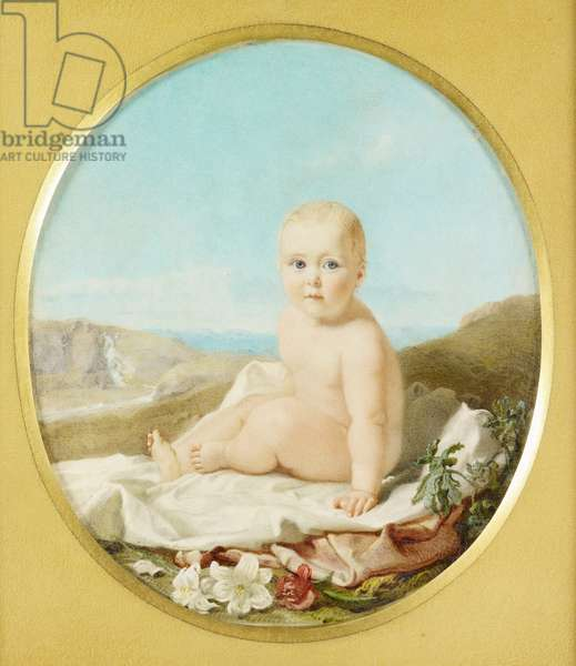Princess Alice, 1844 (w/c on ivory)