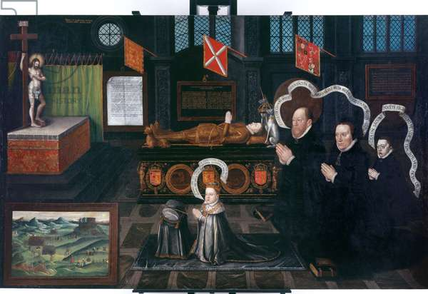 The Memorial of Lord Darnley, 1567 (oil on canvas)