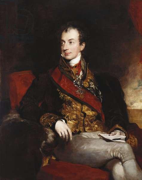Clemens Lothar Wenzel, Prince Metternich, 1815 (oil on canvas)