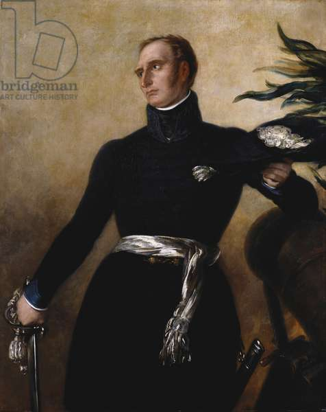 Frederick William, Duke of Brunswick-Wolfenbüttel, c.1848-76 (oil on canvas)