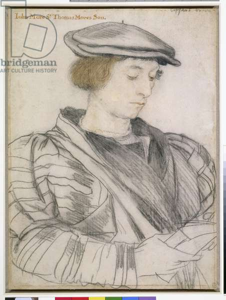 Sir John More, c.1526-27 (black & coloured chalks on paper)