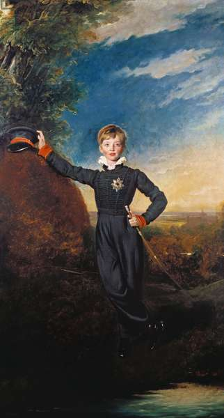 Prince George of Cumberland, later King George of Hanover, 1828 (oil on canvas)