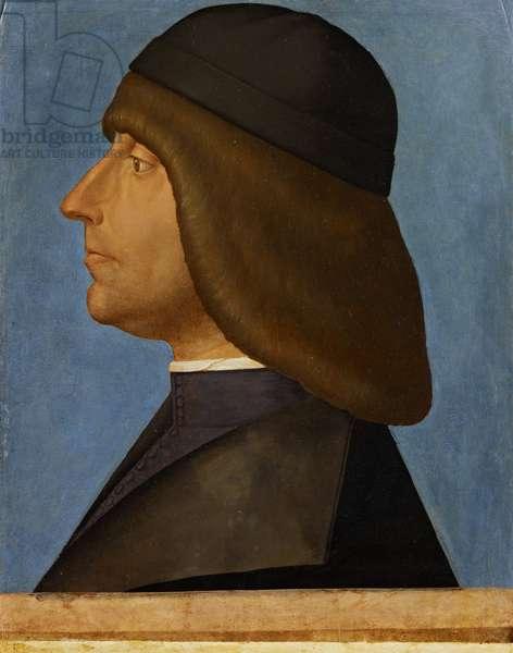 Portrait of a man, c.1500-05 (oil on panel)