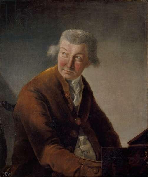 Carl Friedrich Abel, 1780 (oil on canvas)