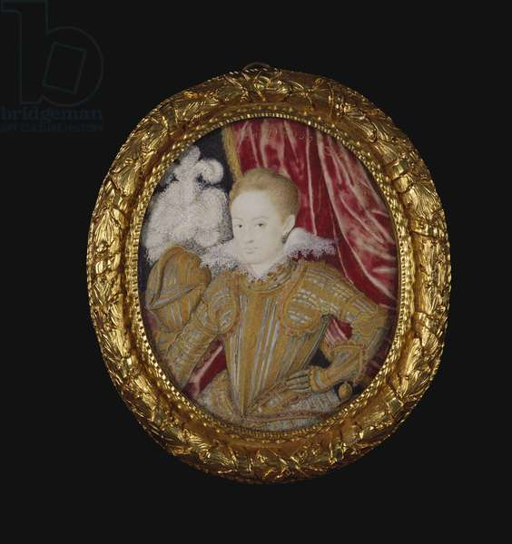 Henry, Prince of Wales, 1607 (w/c on vellum laid on card)