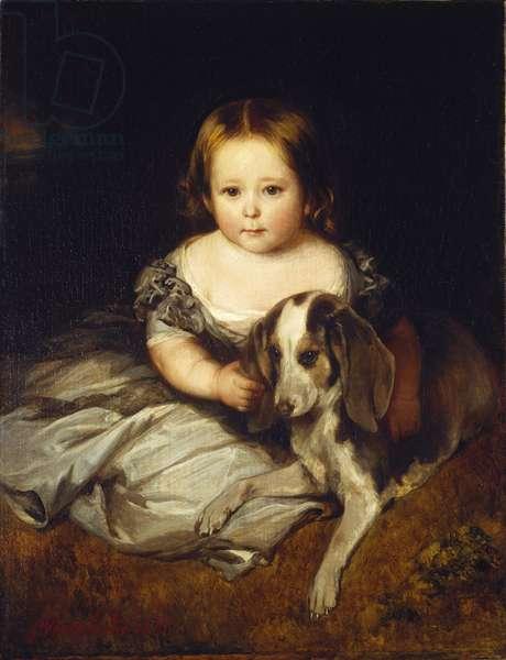 Princess Alice, 1845 (oil on canvas)