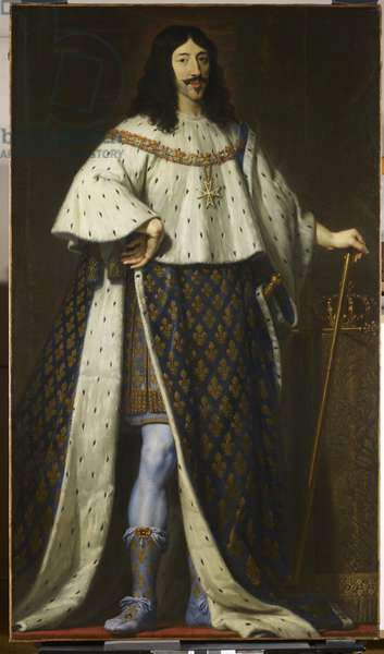 Louis XIII, King of France, c.1622-39 (oil on canvas)