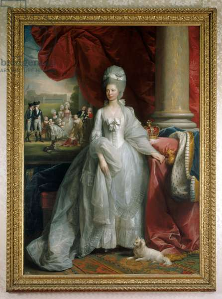 Queen Charlotte, 1779 (oil on canvas)