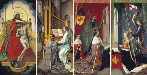 The Trinity Altar Panels, 1478 (oil on panel)