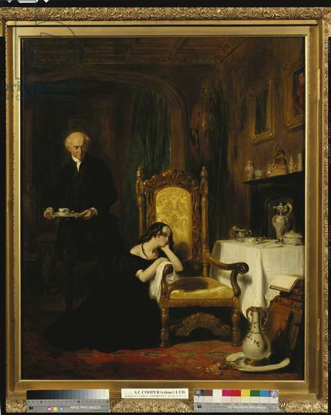 The Orphan, 1834 (oil on canvas)