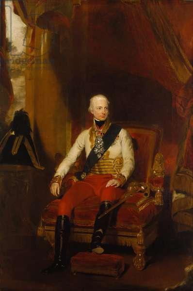 Francis I, Emperor of Austria, 1819 (oil on canvas)