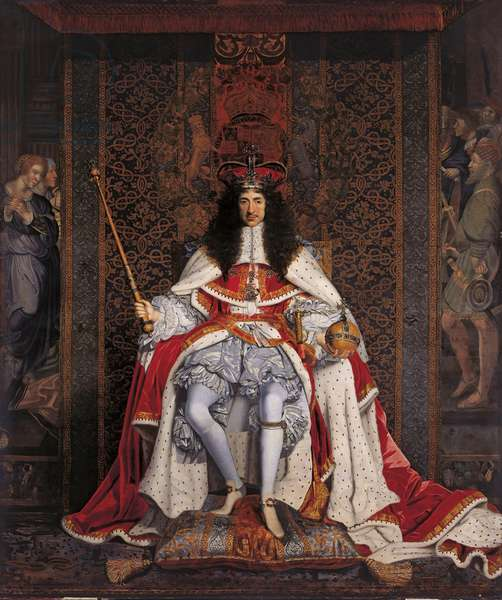 Charles II, c.1661-66 (oil on canvas)