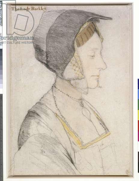 Elizabeth Dauncey, c.1526-27 (black & coloured chalks on paper)
