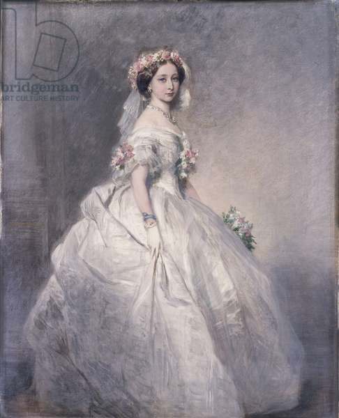 Princess Alice, later Grand Duchess of Hesse, 1859 (oil on canvas)