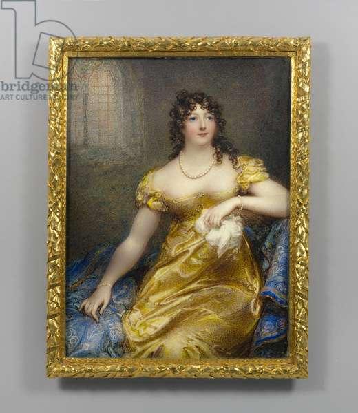 Viscountess Castlereagh, c.1813 (w/c on ivory)