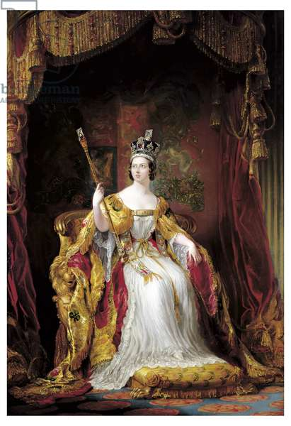 Queen Victoria, 1859 (oil on canvas)