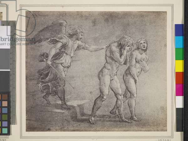 The Expulsion, 1857 (salted paper print)