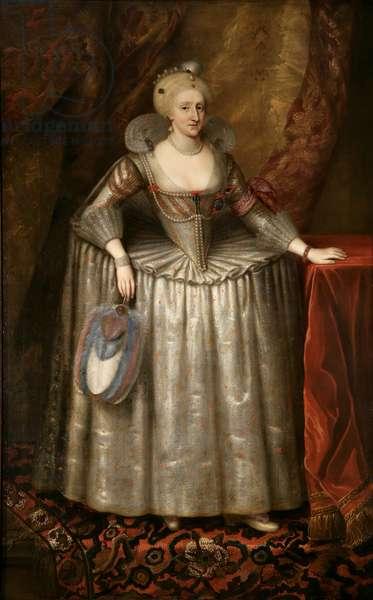Anne of Denmark (1574-1619), c.1620-1700 (oil on canvas)