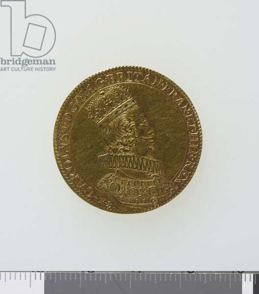 Medal commemorating the coronation King Charles I, 1626 (gold) (obverse of 3706858)