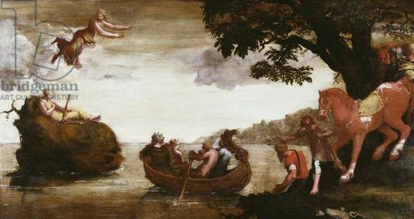 Psyche Abandoned, c.1527-28 (oil on pine panel)