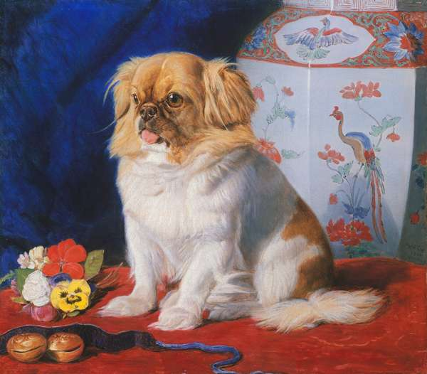 Looty, 1861 (oil on canvas)