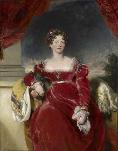 Princess Sophia, 1825 (oil on canvas)