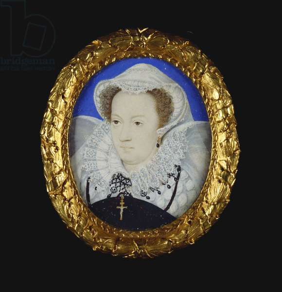 Mary, Queen of Scots, c.1578-9 (w/c on vellum laid on card)
