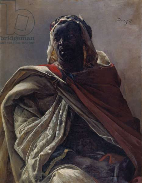 Mohammed: a Nubian, 1877 (oil on canvas)