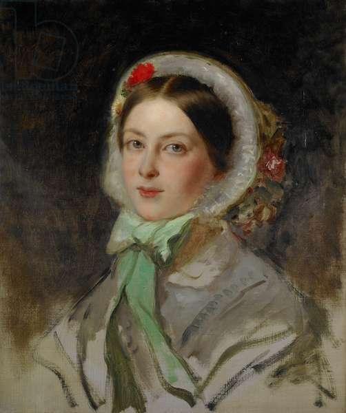 Victoria, Princess Royal, 1856 (oil on canvas)