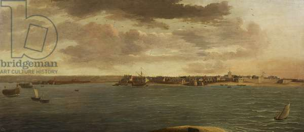 A View of Portsmouth, c.1675 (oil on canvas)