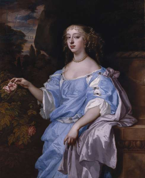 Henrietta Boyle, Countess of Rochester, c.1665 (oil on canvas)
