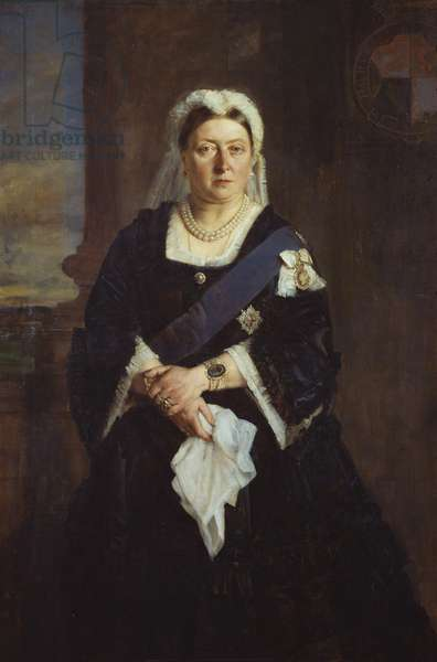 Queen Victoria, 1875 (oil on canvas)