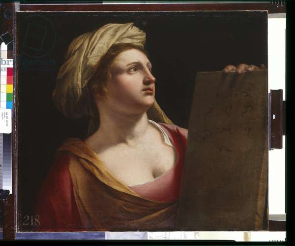 A Sibyl, c.1635-38 (oil on canvas)