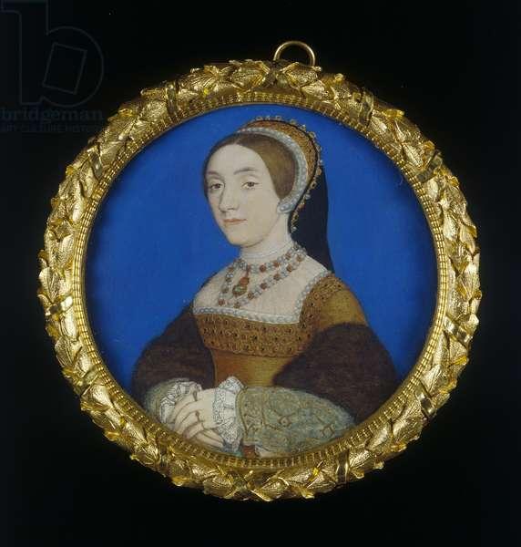 Portrait of a Lady, c.1540 (w/c & bodycolour on vellum)