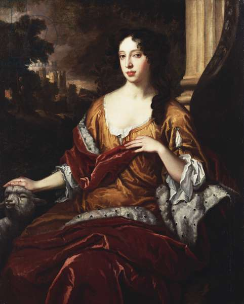 Mary of Modena when Duchess of York, 1687 (oil on canvas)