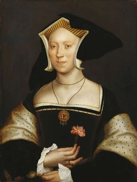 Elizabeth Cheyne, Lady Vaux (oil on panel)