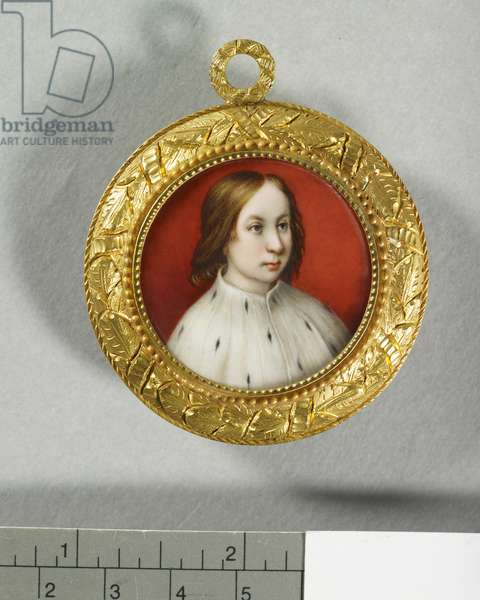 James IV, King of Scotland, 1848 (enamel on gold)