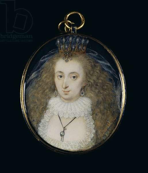 Lucy Harington, Countess of Bedford, c.1612-16 (w/c on vellum)