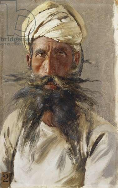 Makkan Singh, 1886-88 (oil on panel)