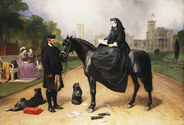 Queen Victoria at Osborne,
