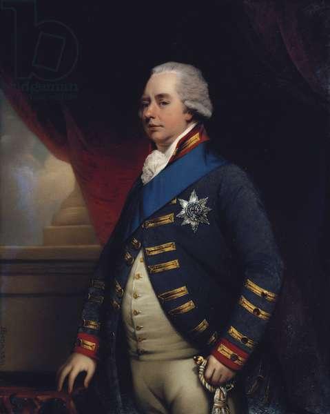William V, Prince of Orange (after Hoppner), 1801 (enamel on copper)