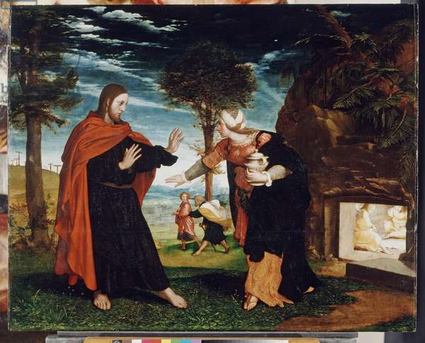'Noli me tangere', c.1524 (oil on panel)