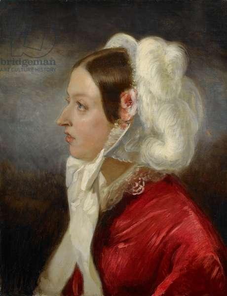 Queen Victoria, 1856 (oil on canvas)