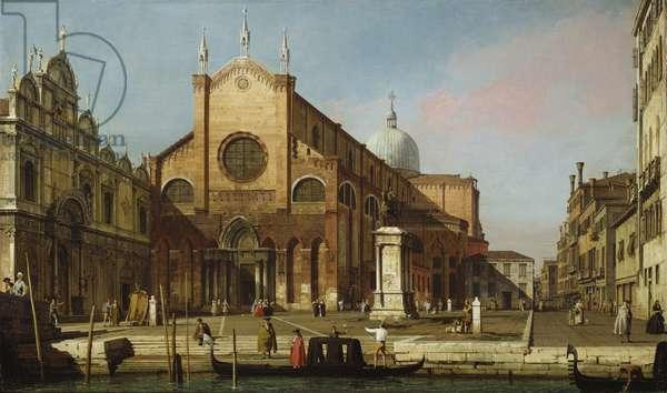 The Campo SS. Giovanni e Paolo, c.1738 (oil on canvas)