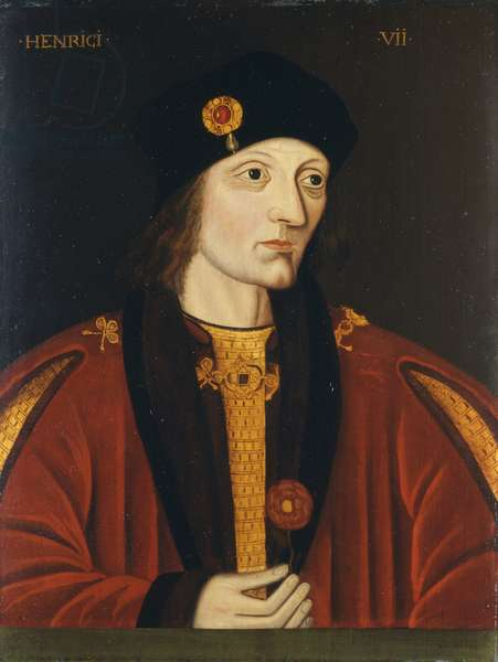 Henry VII (oil on panel)