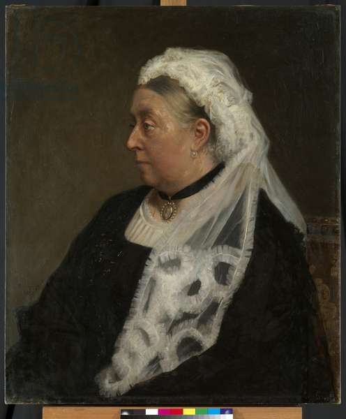 Queen Victoria, 1883 (oil on canvas)