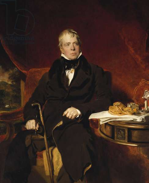 Sir Walter Scott, c.1820 (oil on canvas)