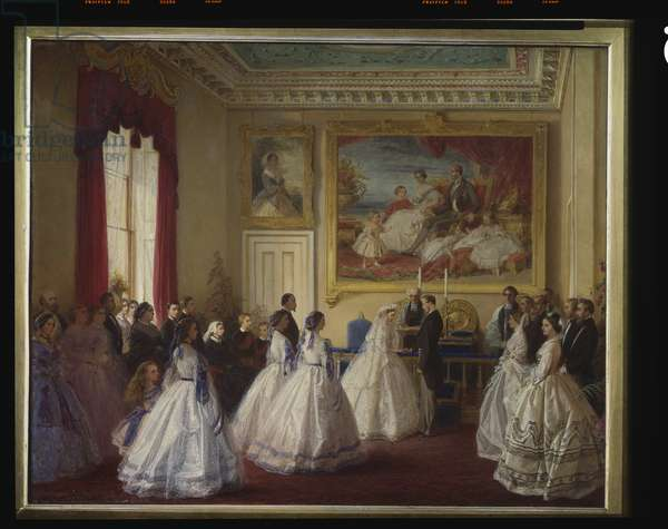 The Marriage of Princess Alice, 1st July 1862, c.1862-63 (oil on canvas)